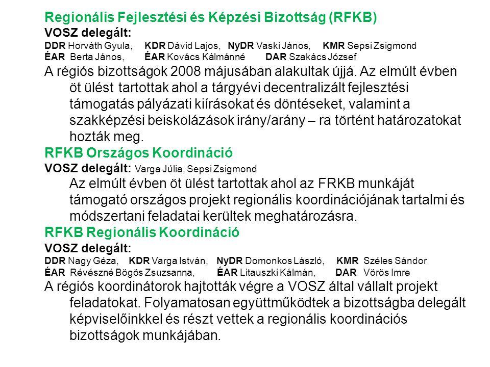 Regionális Fejlesztési és Képzési Bizottság (RFKB)