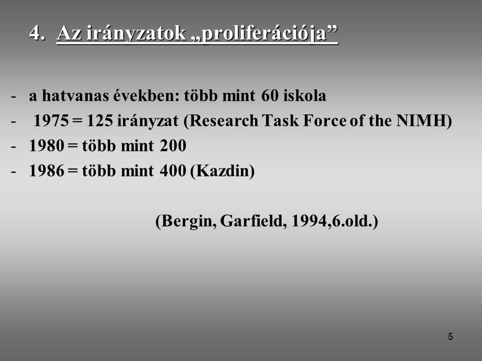 """4. Az irányzatok """"proliferációja"""