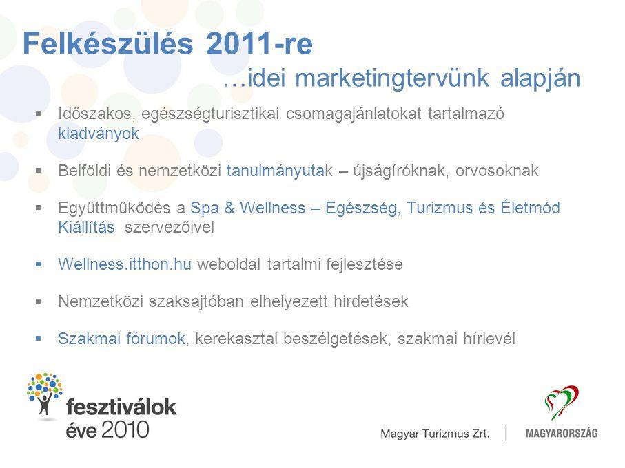 Felkészülés 2011-re …idei marketingtervünk alapján