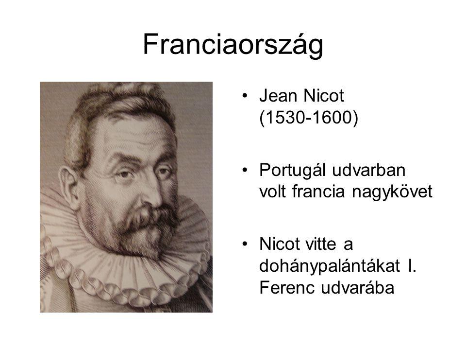 Franciaország Jean Nicot (1530-1600)