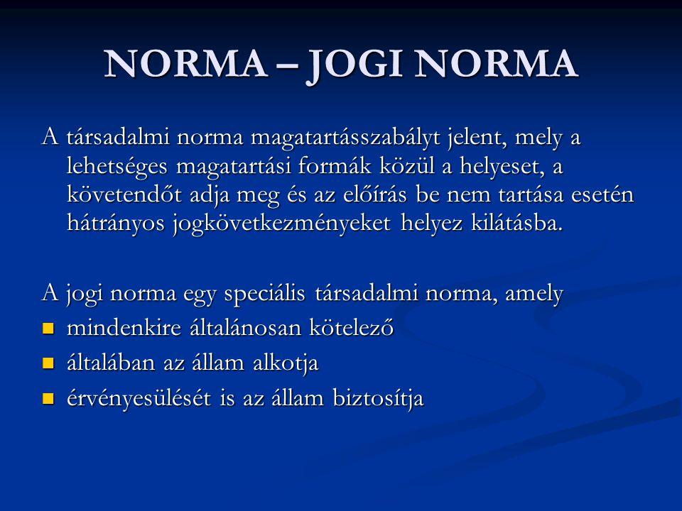 NORMA – JOGI NORMA