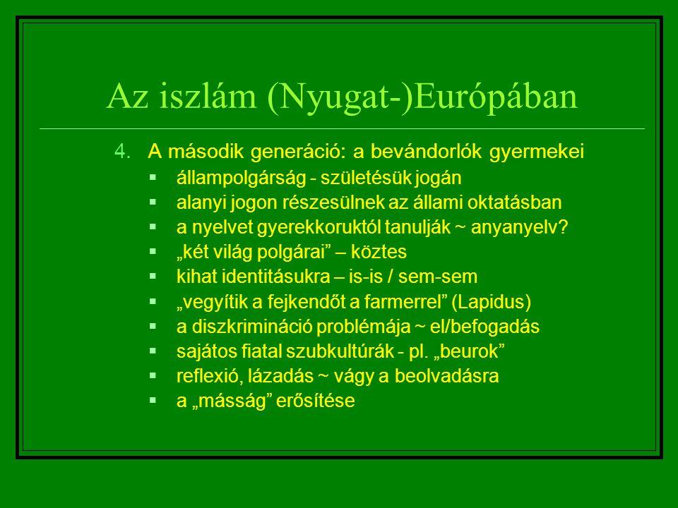 Az iszlám (Nyugat-)Európában