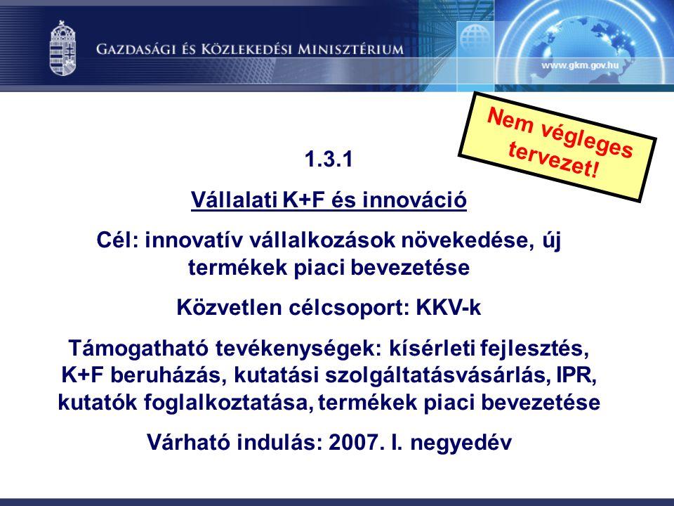 Vállalati K+F és innováció