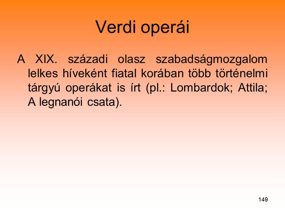 Verdi operái