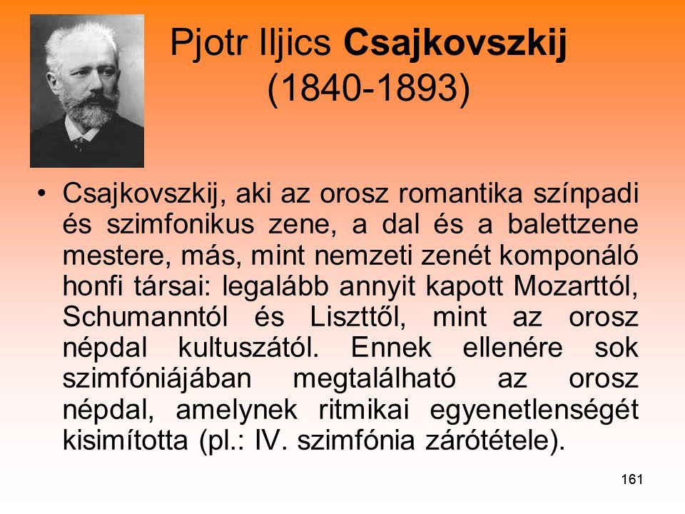 Pjotr Iljics Csajkovszkij (1840-1893)