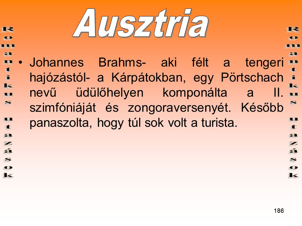Ausztria Romantikus utazások Romantikus utazások