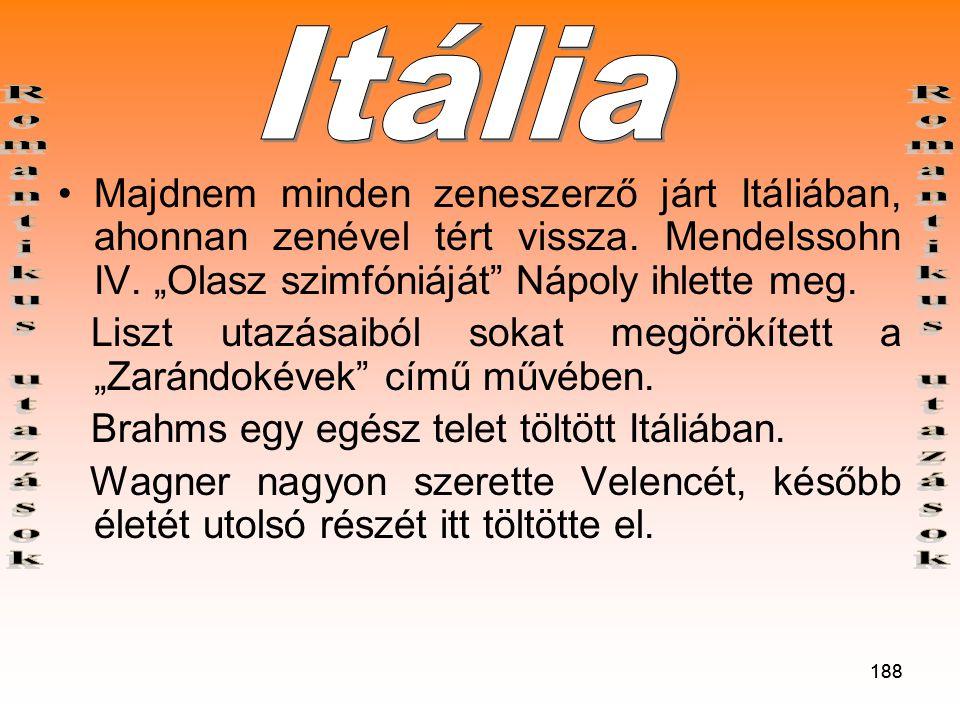 Itália Romantikus utazások Romantikus utazások