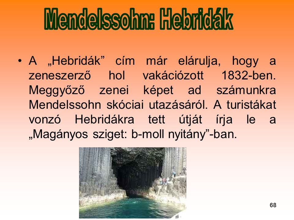 Mendelssohn: Hebridák