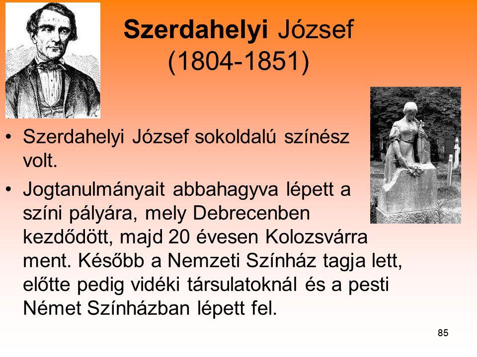 Szerdahelyi József (1804-1851)