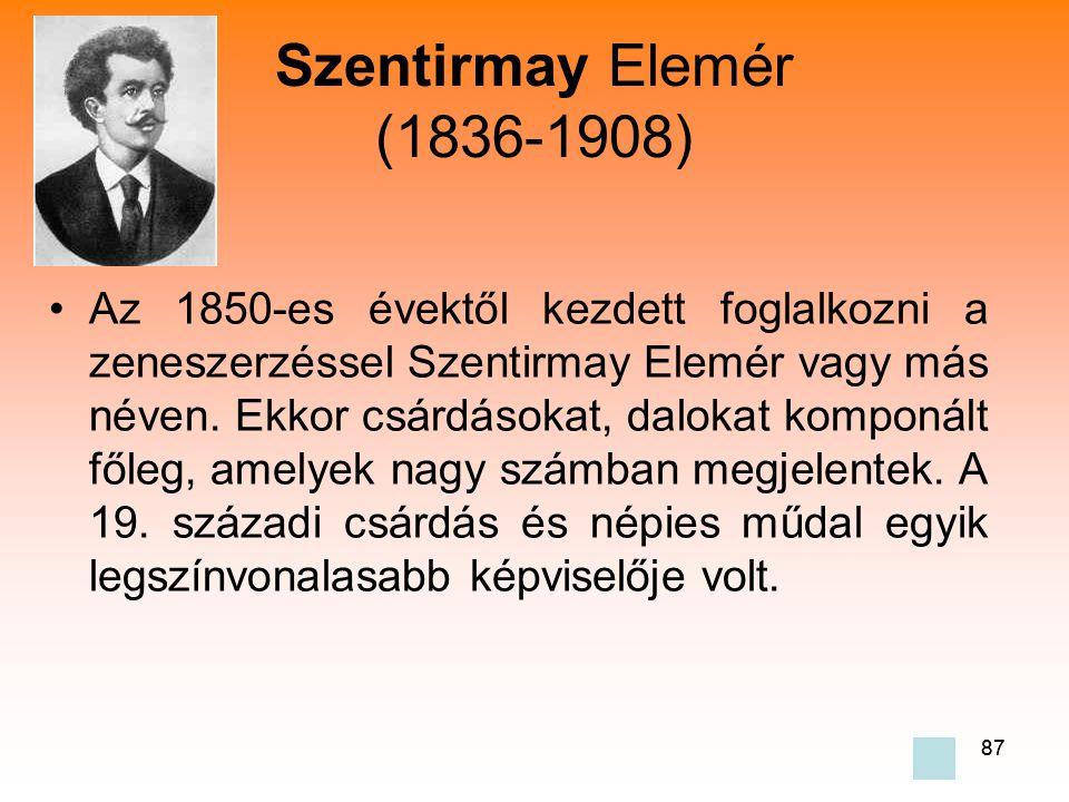 Szentirmay Elemér (1836-1908)