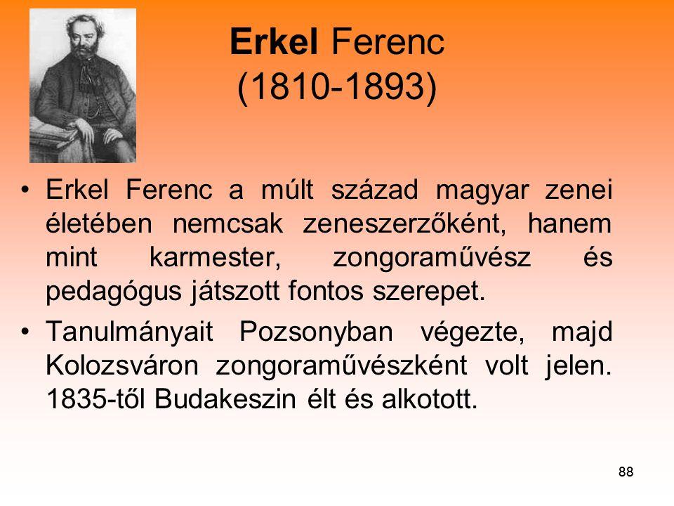 Erkel Ferenc (1810-1893)