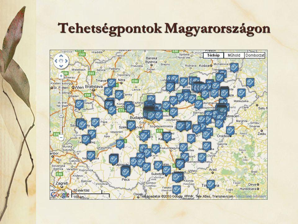 Tehetségpontok Magyarországon
