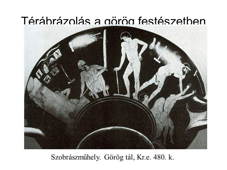 Térábrázolás a görög festészetben