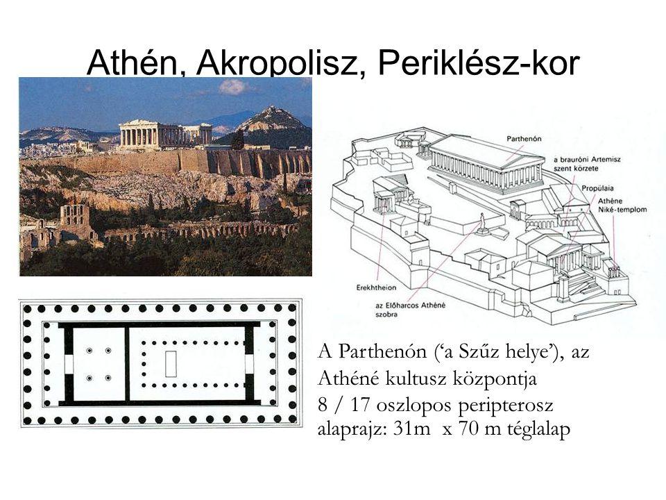 Athén, Akropolisz, Periklész-kor