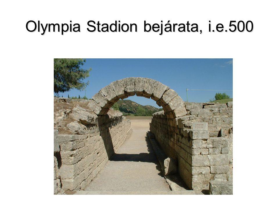 Olympia Stadion bejárata, i.e.500