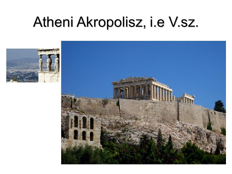 Atheni Akropolisz, i.e V.sz.