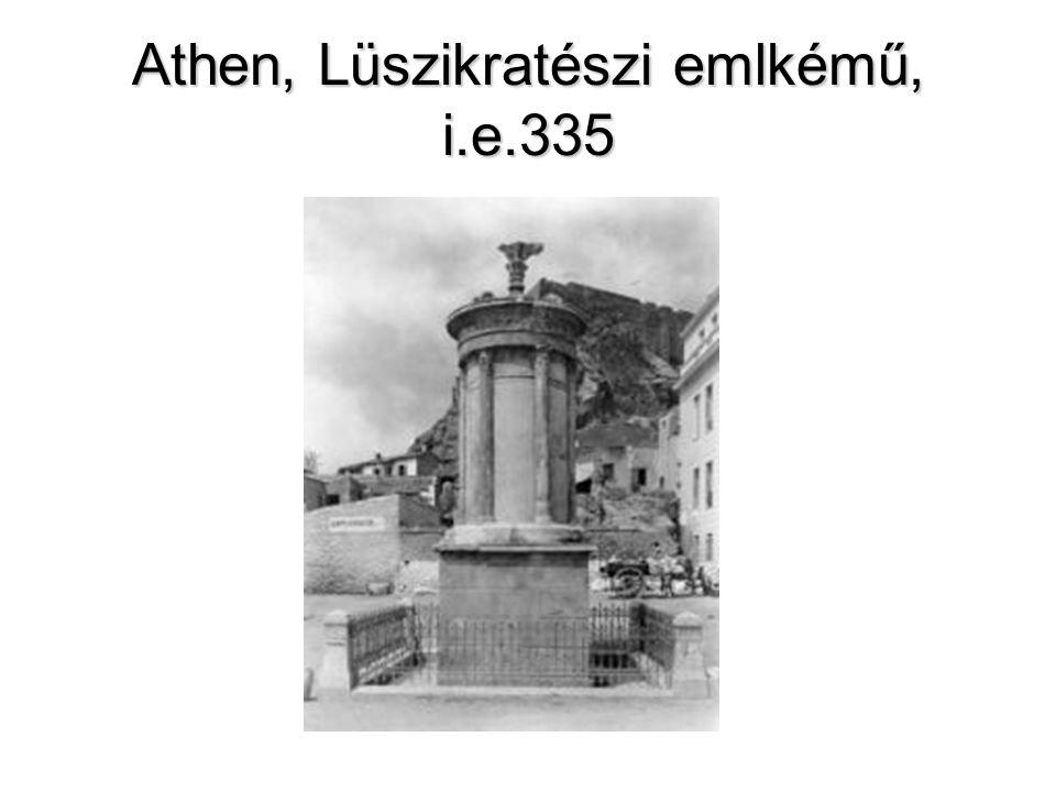 Athen, Lüszikratészi emlkémű, i.e.335