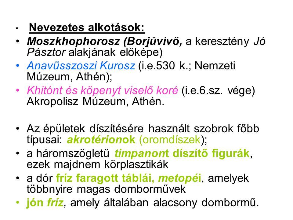 Moszkhophorosz (Borjúvivő, a keresztény Jó Pásztor alakjának előképe)