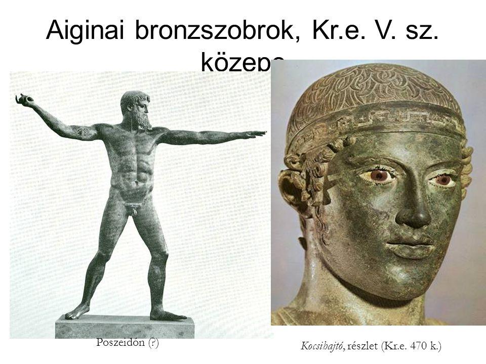 Aiginai bronzszobrok, Kr.e. V. sz. közepe
