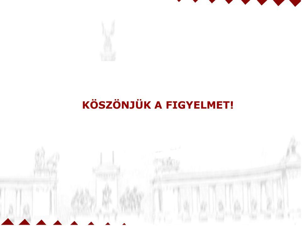 KÖSZÖNJÜK A FIGYELMET! 38