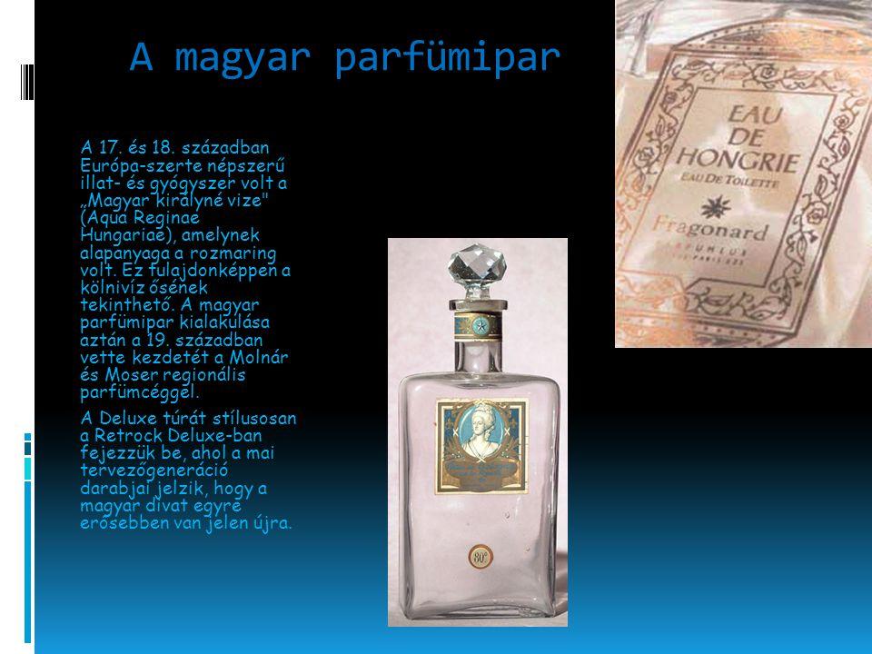 A magyar parfümipar