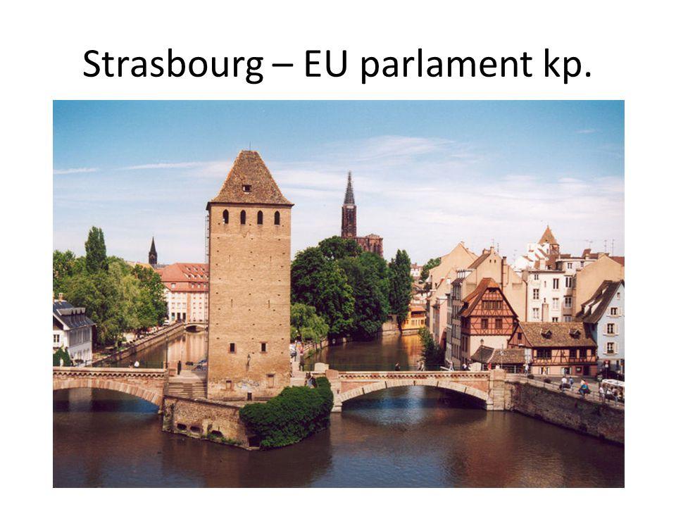 Strasbourg – EU parlament kp.
