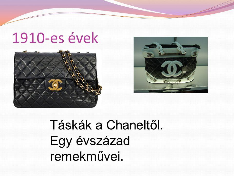 1910-es évek Táskák a Chaneltől. Egy évszázad remekművei.