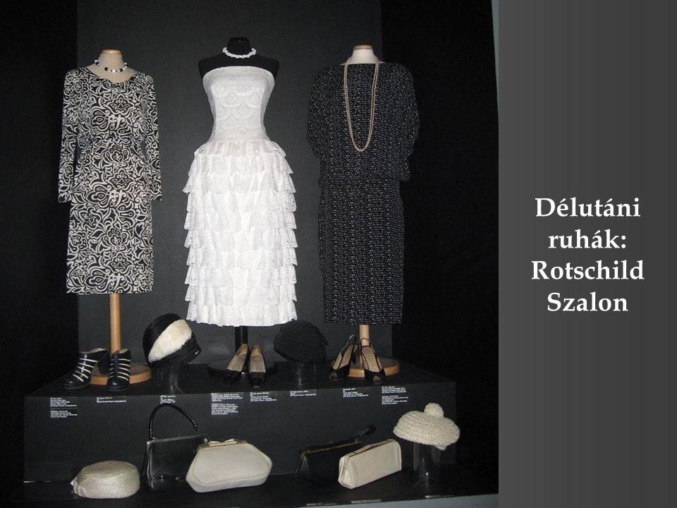 Délutáni ruhák: Rotschild Szalon
