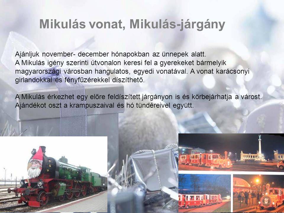 Mikulás vonat, Mikulás-járgány