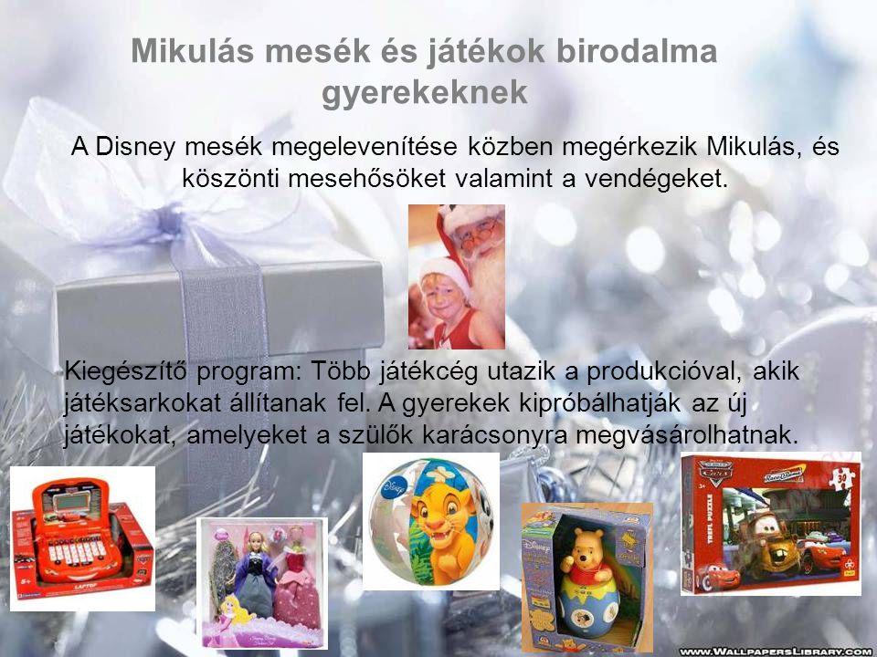 Mikulás mesék és játékok birodalma gyerekeknek