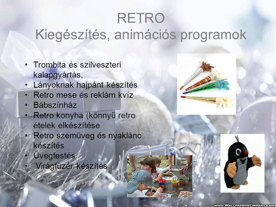 Kiegészítés, animációs programok