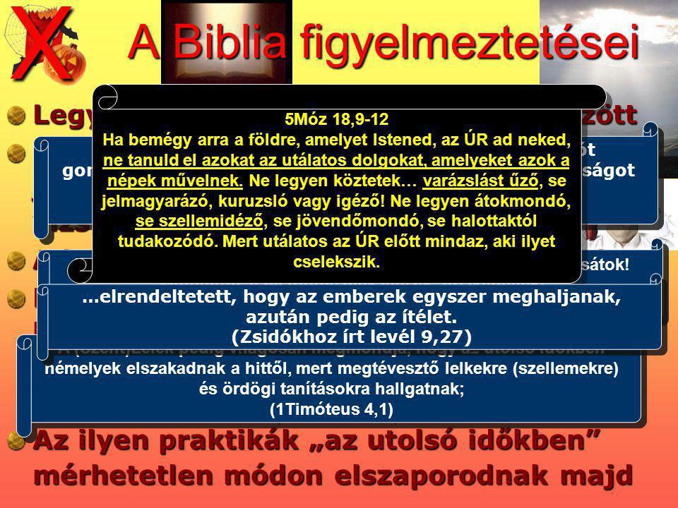 A Biblia figyelmeztetései