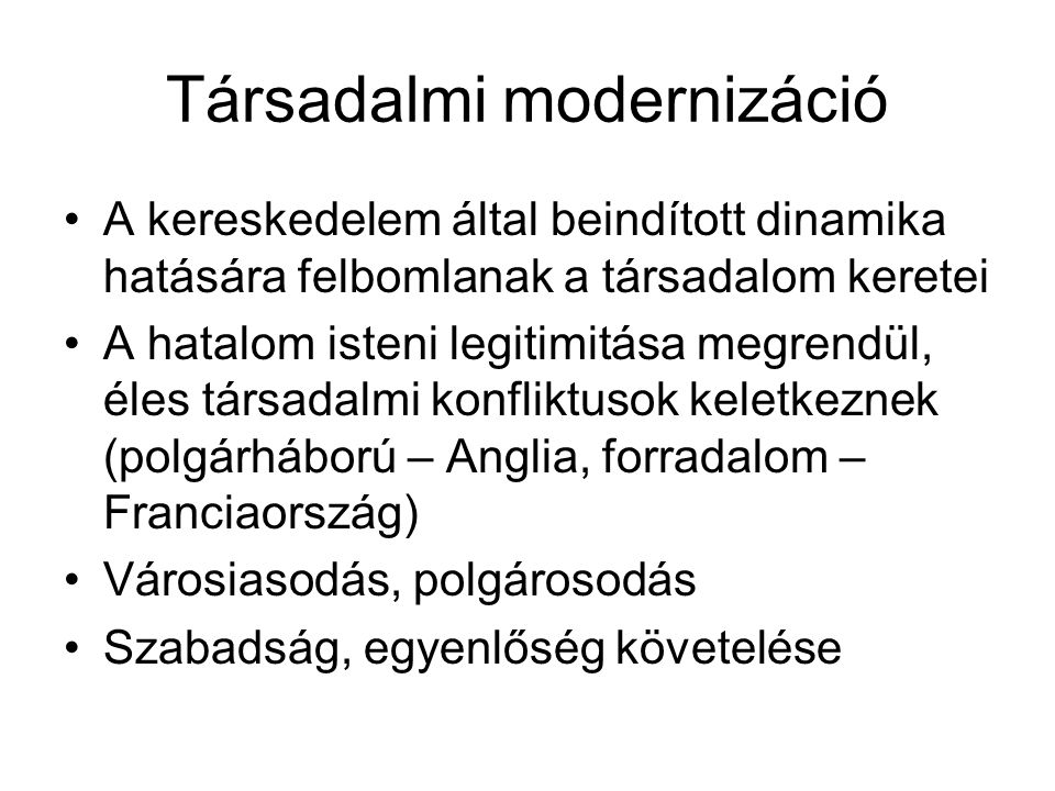 Társadalmi modernizáció