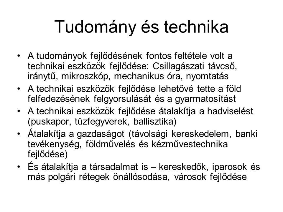 Tudomány és technika