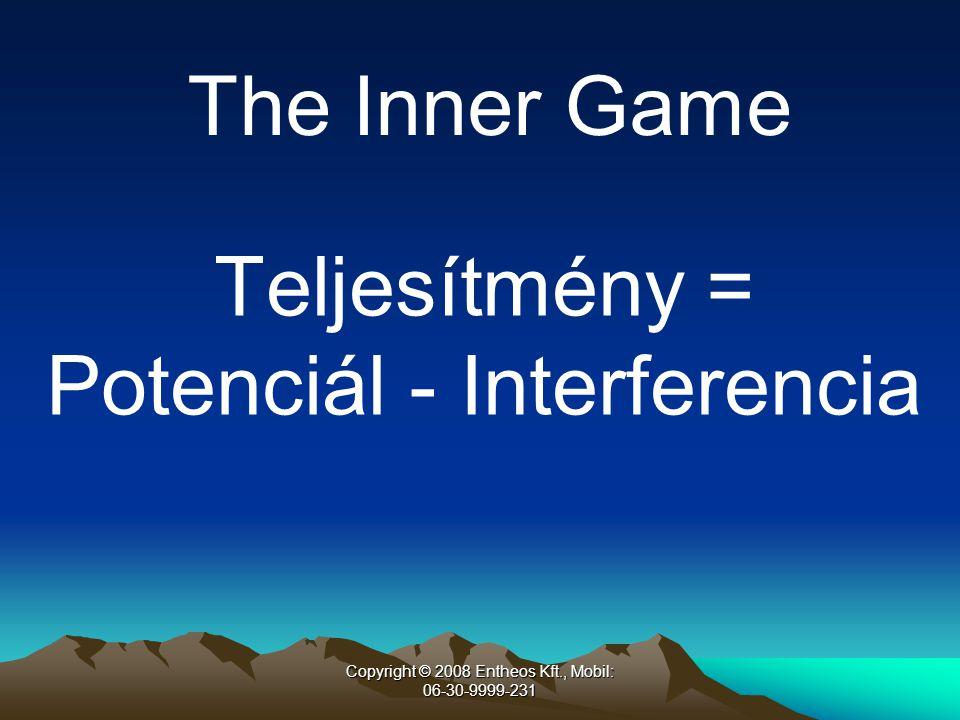 Potenciál - Interferencia