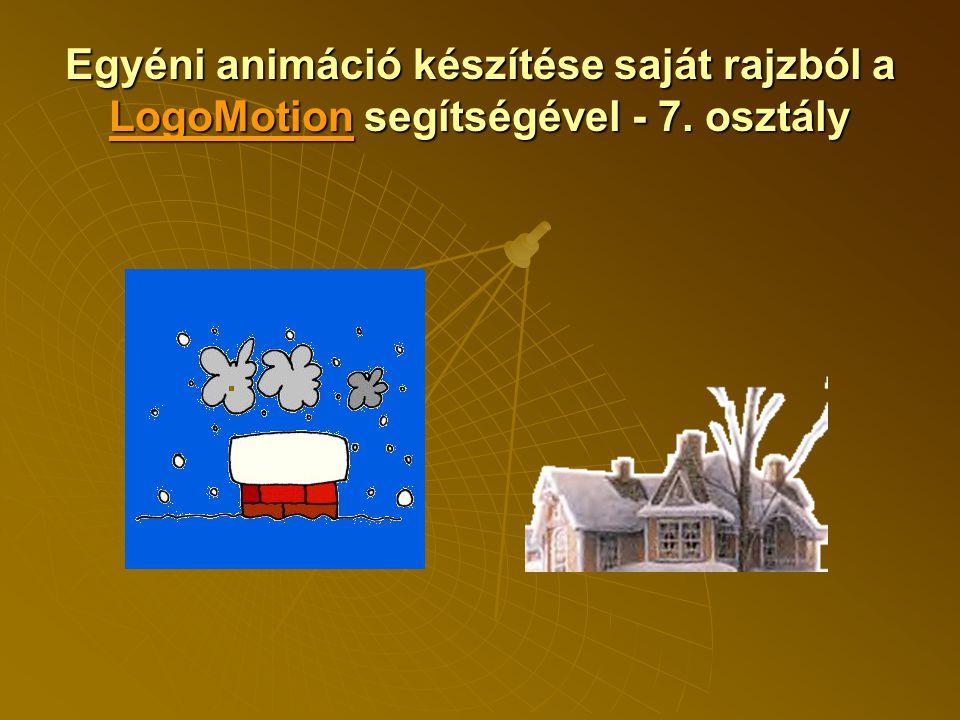 Egyéni animáció készítése saját rajzból a LogoMotion segítségével - 7