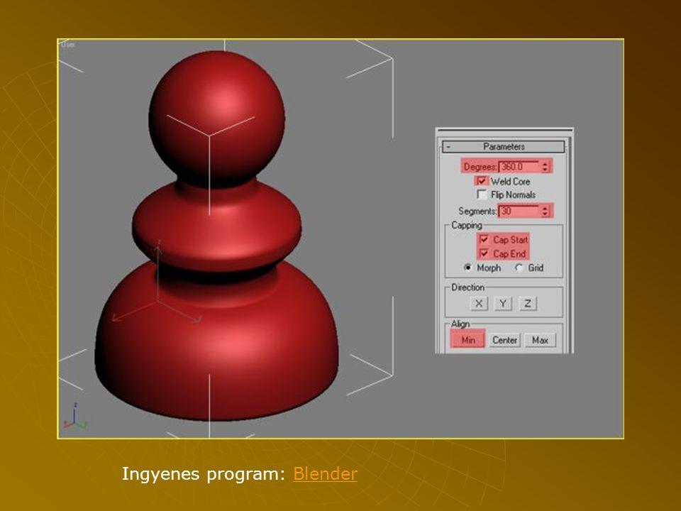 Ingyenes program: Blender