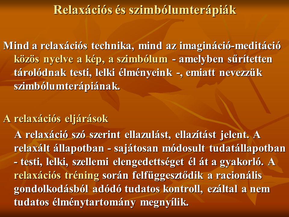 Relaxációs és szimbólumterápiák