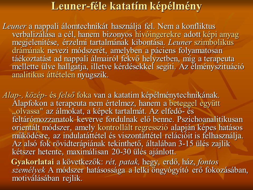 Leuner-féle katatím képélmény