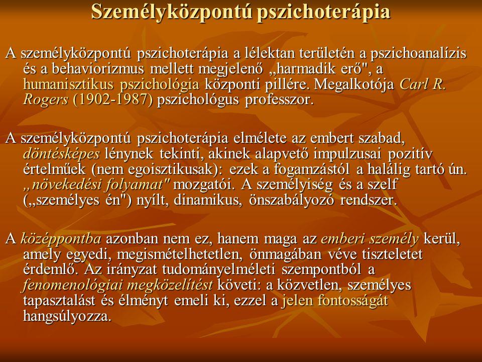Személyközpontú pszichoterápia