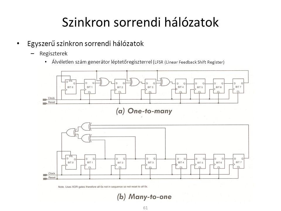 Szinkron sorrendi hálózatok