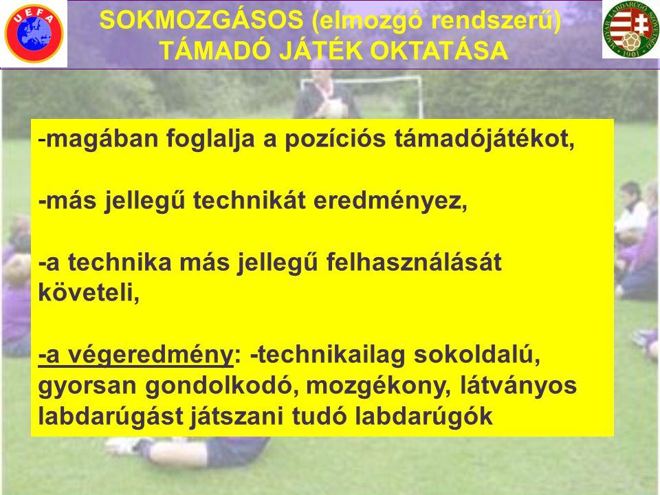 SOKMOZGÁSOS (elmozgó rendszerű)