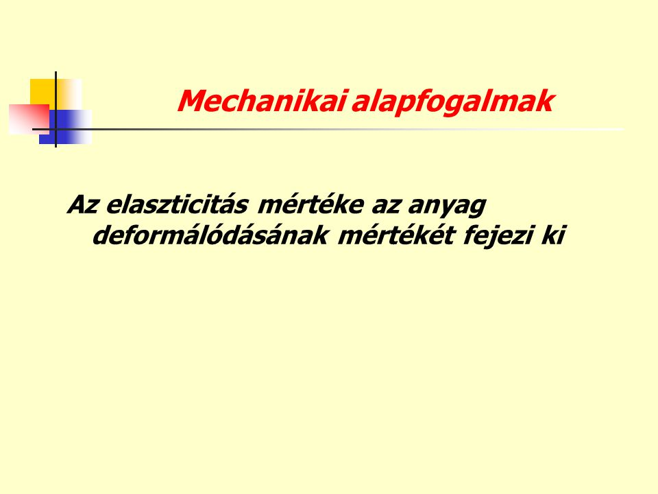 Mechanikai alapfogalmak