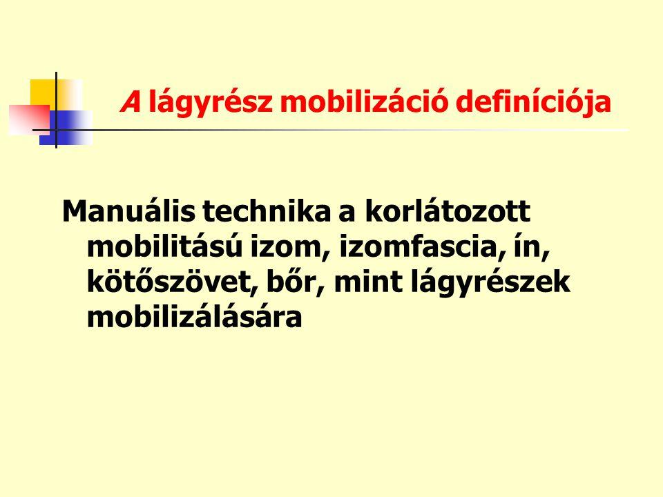 A lágyrész mobilizáció definíciója