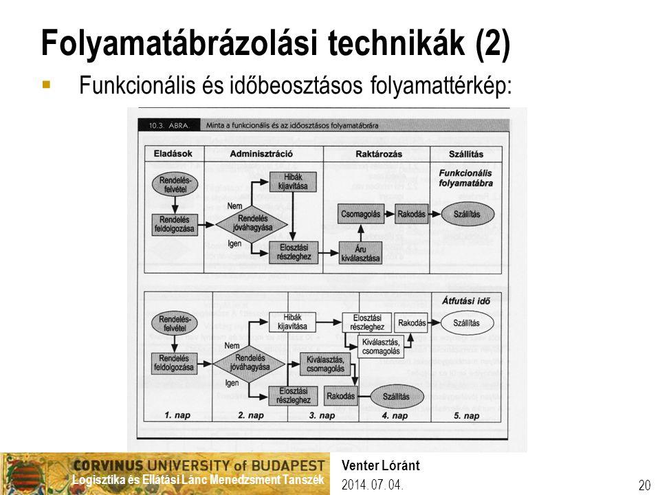Folyamatábrázolási technikák (2)