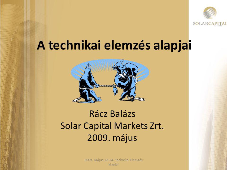 A technikai elemzés alapjai