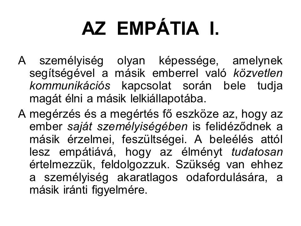 AZ EMPÁTIA I.