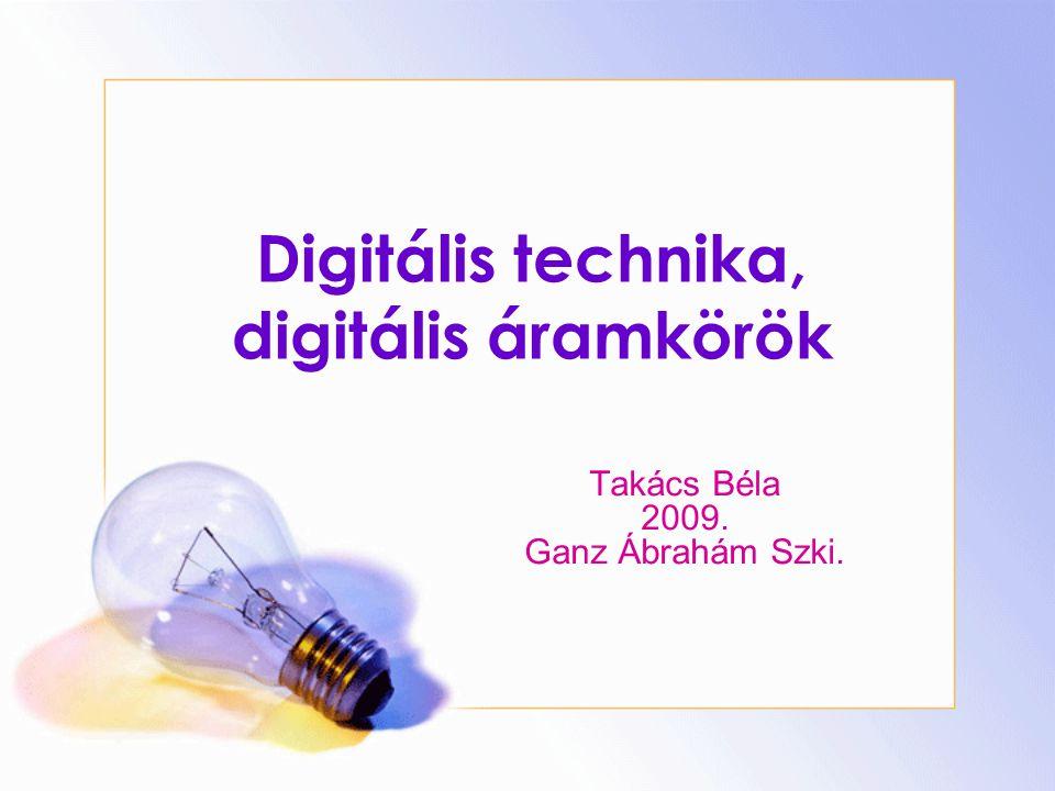 Digitális technika, digitális áramkörök