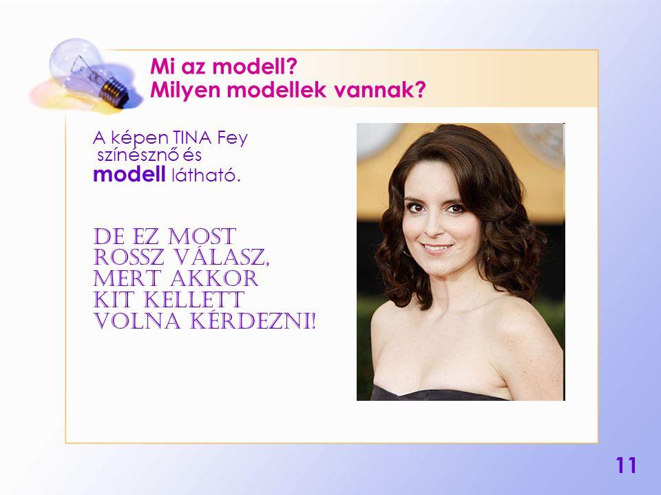 Mi az modell Milyen modellek vannak