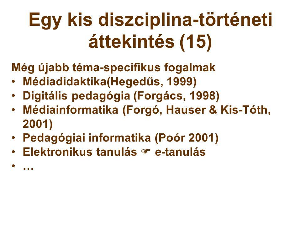 Egy kis diszciplina-történeti áttekintés (15)